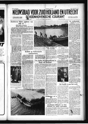 Schoonhovensche Courant 1958-06-09