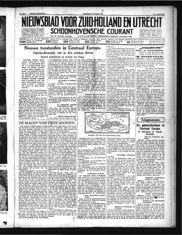 Schoonhovensche Courant 1939-03-15