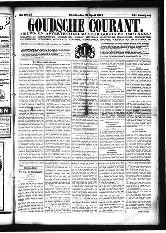 Goudsche Courant 1927-04-21