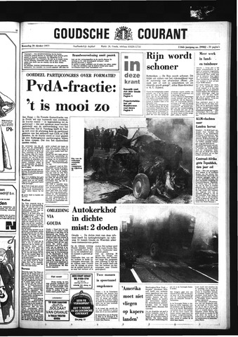 Goudsche Courant 1977-10-26