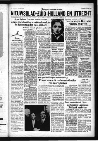 Schoonhovensche Courant 1966-02-09