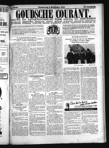 Goudsche Courant 1934-11-08