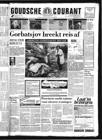 Goudsche Courant 1988-12-08