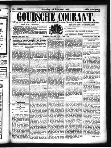 Goudsche Courant 1918-02-18