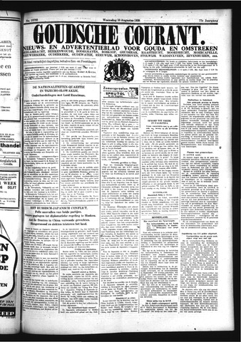Goudsche Courant 1938-08-10