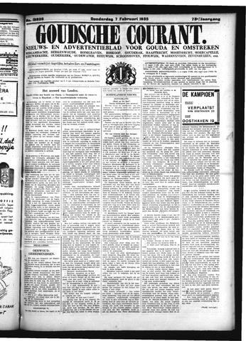 Goudsche Courant 1935-02-07