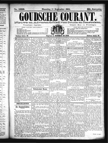 Goudsche Courant 1911-09-11