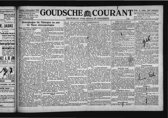 Goudsche Courant 1944-12-01