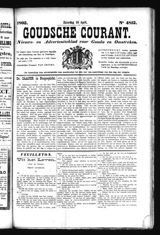 Goudsche Courant 1892-04-16