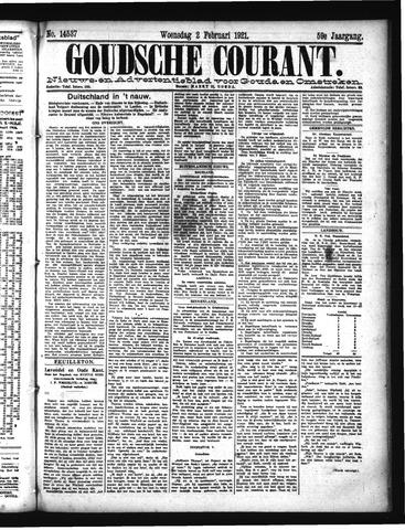 Goudsche Courant 1921-02-02