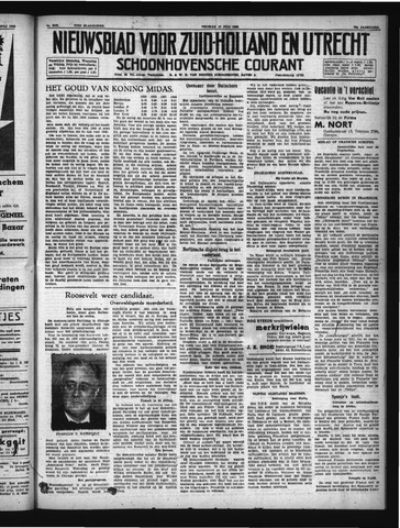 Schoonhovensche Courant 1940-07-19