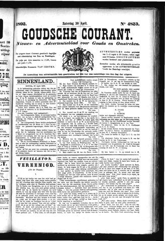 Goudsche Courant 1892-04-30