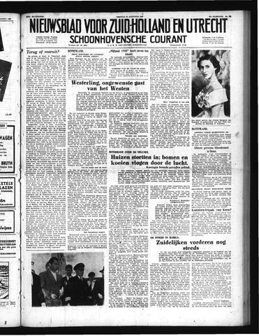 Schoonhovensche Courant 1950-08-25