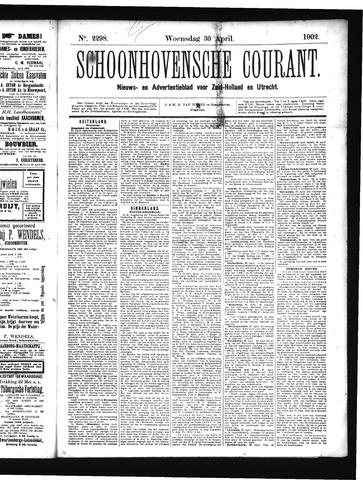 Schoonhovensche Courant 1902-04-30