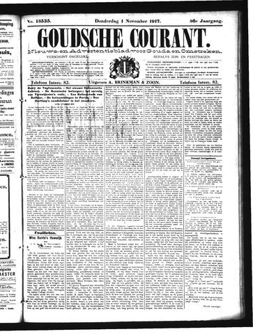 Goudsche Courant 1917-11-01