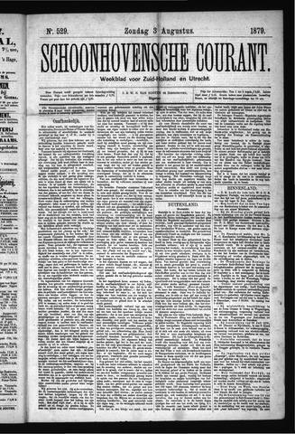 Schoonhovensche Courant 1879-08-03