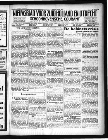 Schoonhovensche Courant 1935-07-29