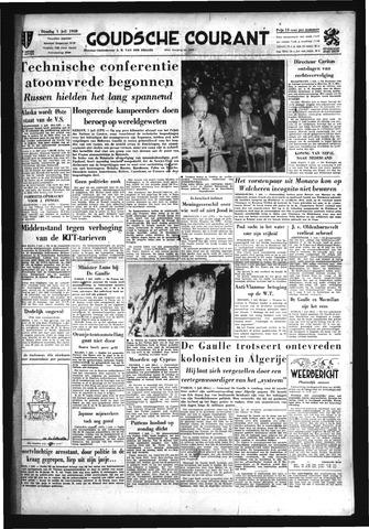 Goudsche Courant 1958-07-01