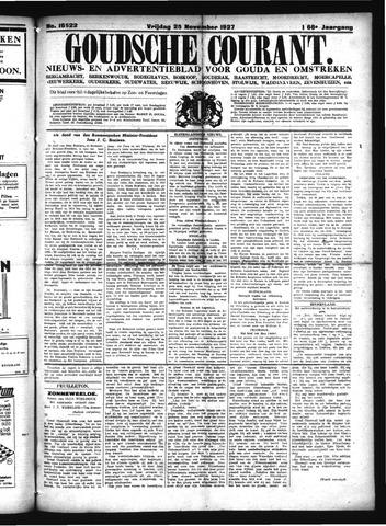 Goudsche Courant 1927-11-25