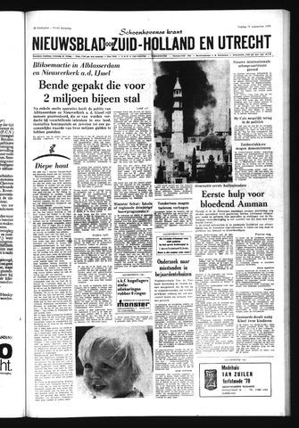 Schoonhovensche Courant 1970-09-25