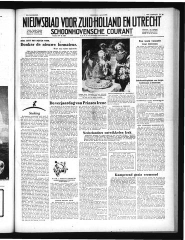 Schoonhovensche Courant 1952-08-06