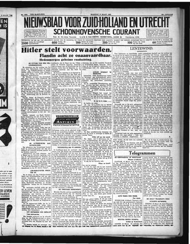 Schoonhovensche Courant 1936-03-16
