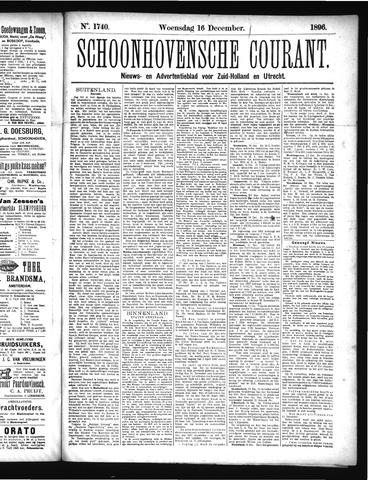 Schoonhovensche Courant 1896-12-16