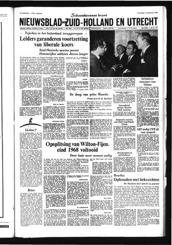 Schoonhovensche Courant 1968-09-11