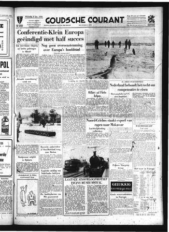 Goudsche Courant 1958-01-08