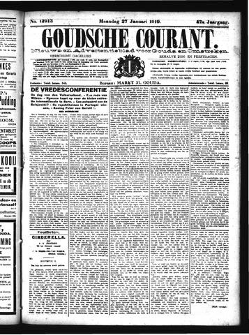 Goudsche Courant 1919-01-27