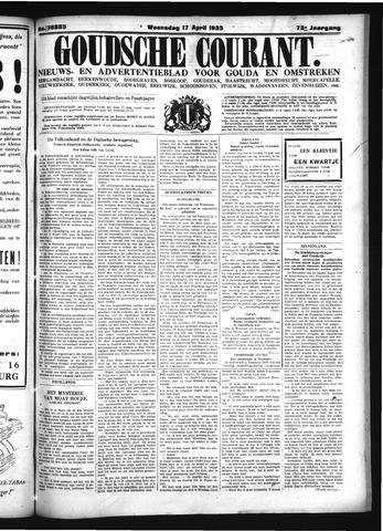 Goudsche Courant 1935-04-17