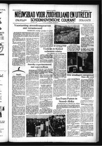Schoonhovensche Courant 1956-05-23