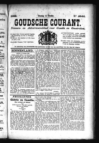 Goudsche Courant 1889-10-15