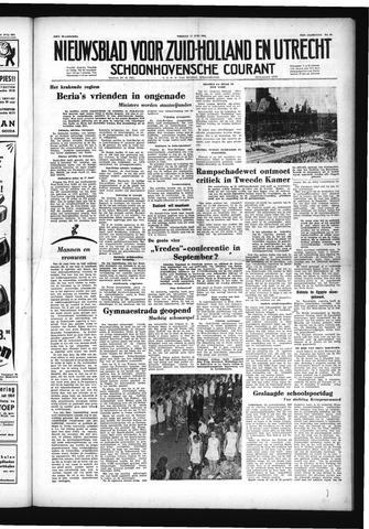 Schoonhovensche Courant 1953-07-17