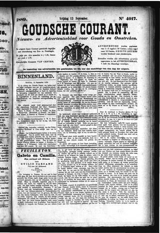 Goudsche Courant 1889-09-13