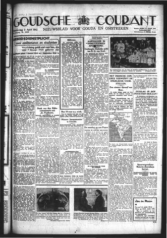 Goudsche Courant 1942-04-02