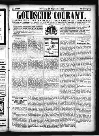 Goudsche Courant 1923-09-29