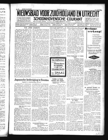 Schoonhovensche Courant 1939-06-23