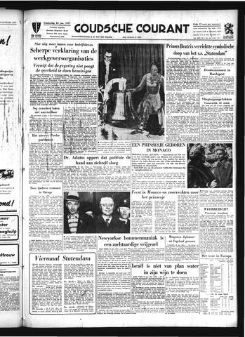 Goudsche Courant 1957-01-24