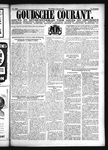 Goudsche Courant 1939-01-04