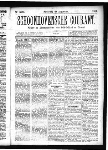 Schoonhovensche Courant 1910-08-20