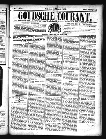 Goudsche Courant 1918-03-08