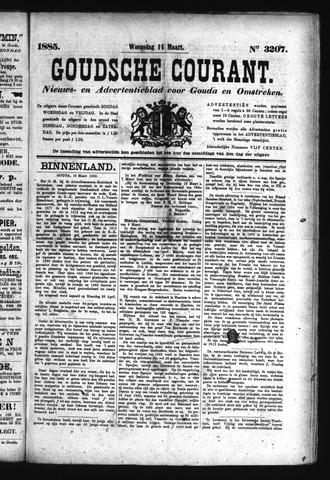 Goudsche Courant 1885-03-11