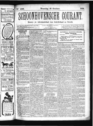 Schoonhovensche Courant 1919-10-20