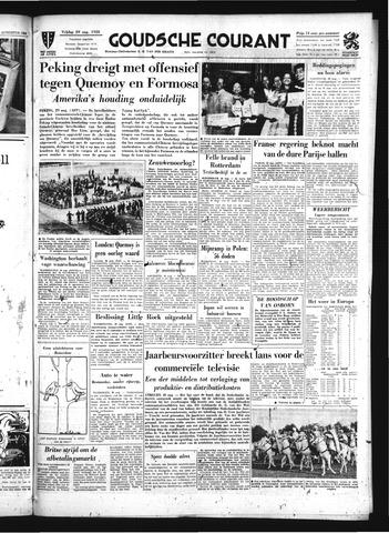 Goudsche Courant 1958-08-29
