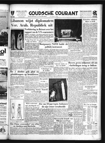 Goudsche Courant 1958-07-05