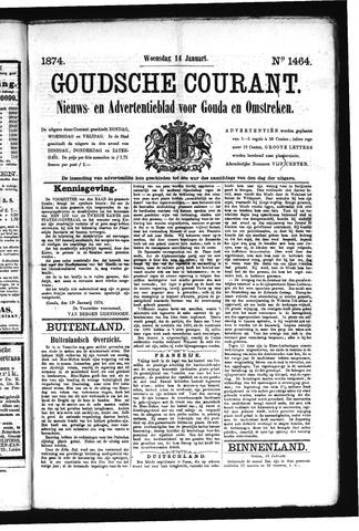 Goudsche Courant 1874-01-14
