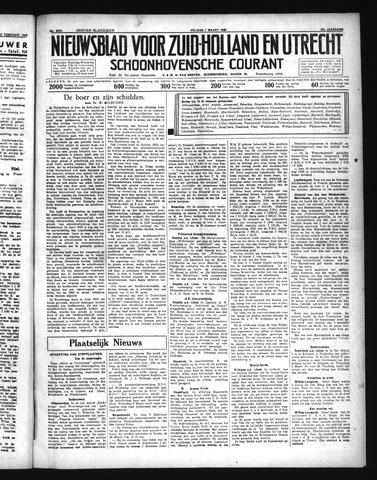 Schoonhovensche Courant 1935-03-01