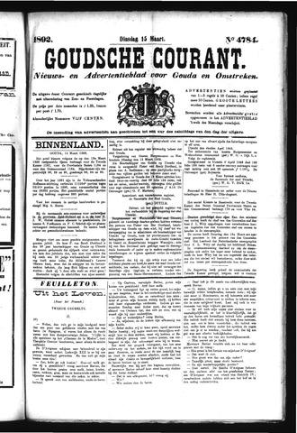 Goudsche Courant 1892-03-15