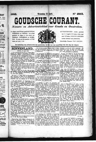 Goudsche Courant 1883-04-25